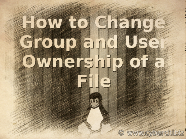 How to Change a USER and GROUP ID on Linux For All Owned Files