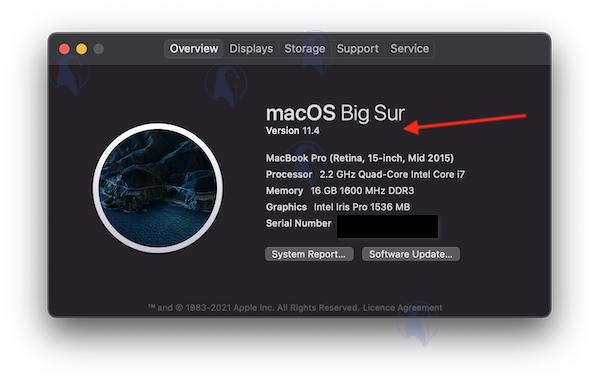 Find out which macOS version your Apple Mac is using