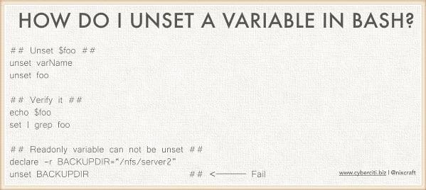 bash script set environment variable