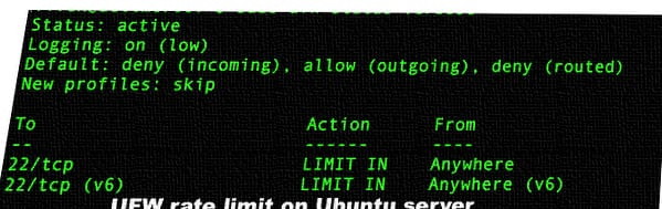Limiting SSH Connections with ufw