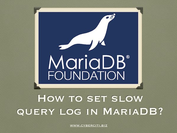 The slow query log is a record of SQL queries that took a long time to perform.