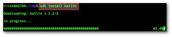 Fig.02: Installing kotline