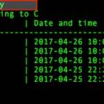 CentOS/Red Hat Enterprise Linux yum command log