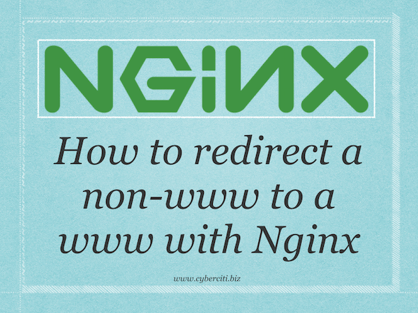 How To Redirect www to Non-www with Nginx