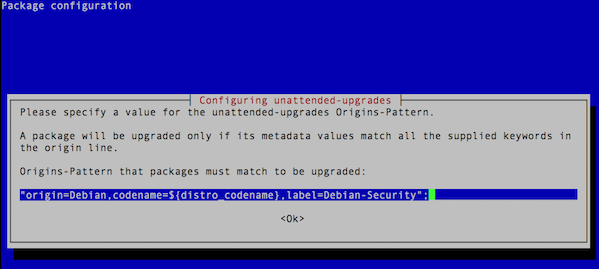 Fig.02 Activate unattended-upgrades using command line