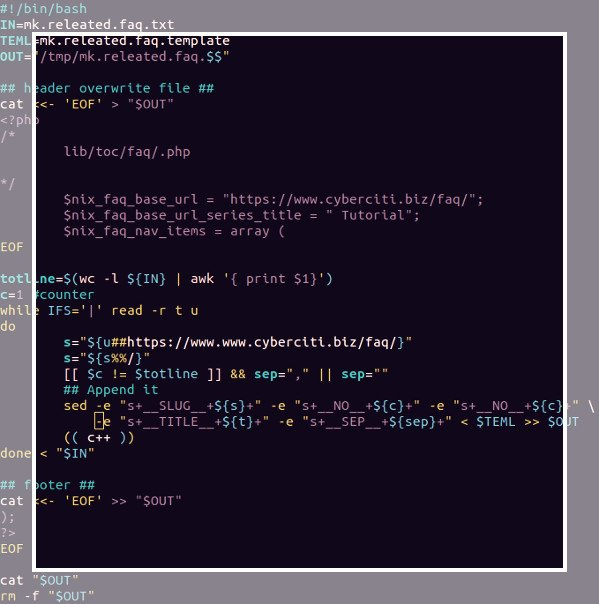 Shell Programming and Scripting