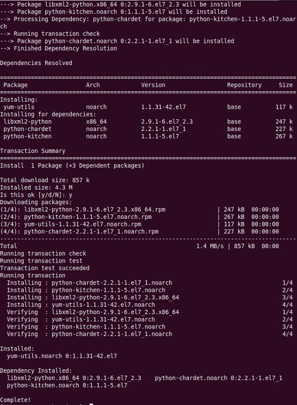 How to install yum-utils on CentOS/RHEL using yum command