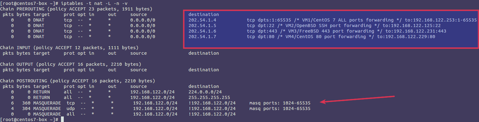 KVM forward ports to guests VM with UFW on Linux - nixCraft