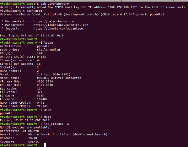 How to Enable and test SSH in Ubuntu Linux server