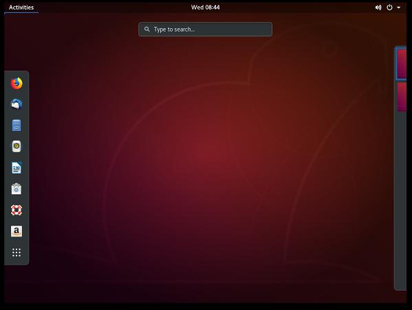 Ubuntu Linux Desktop 2