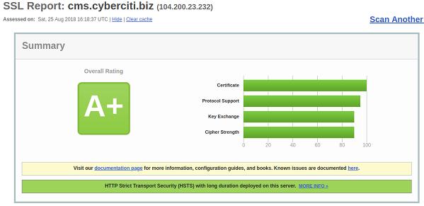 cms.cyberciti.biz SSL labs report