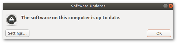Ubuntu Linux Software Updater