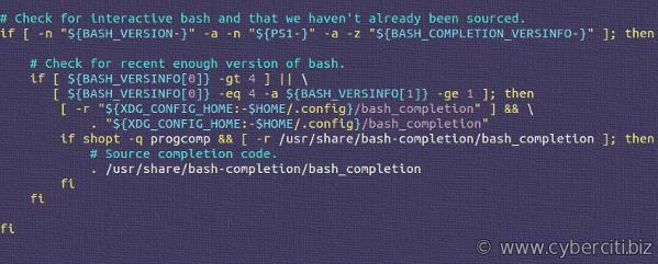 Ubuntu bash_completion.sh to turn on bash smart completion