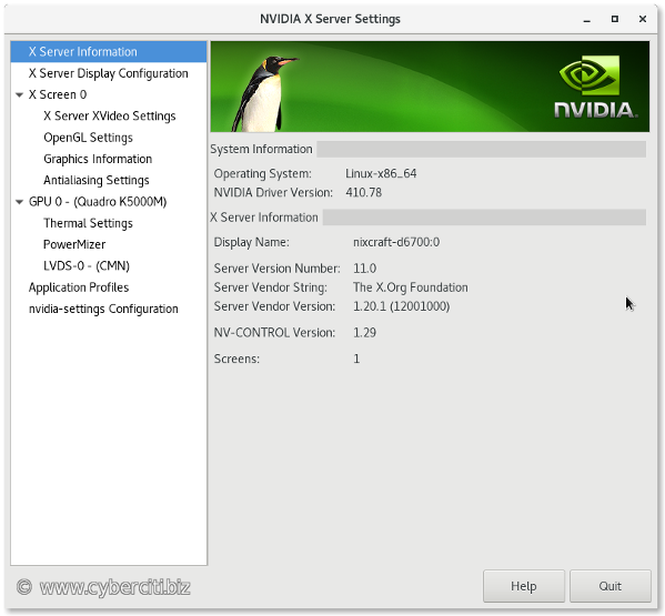 How to install Nvidia driver on CentOS 7 Linux - nixCraft