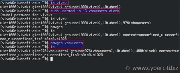 How to install VirtualBox 6 on Fedora Linux 29 - nixCraft