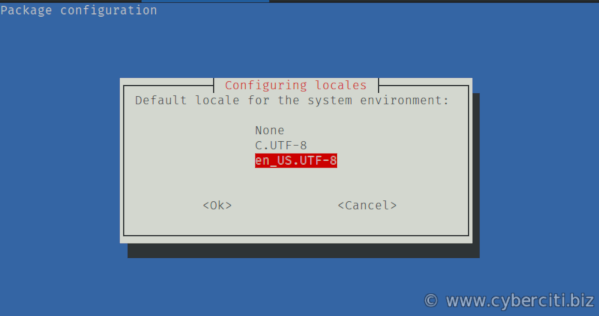 How to fix a locale setting warning from Perl