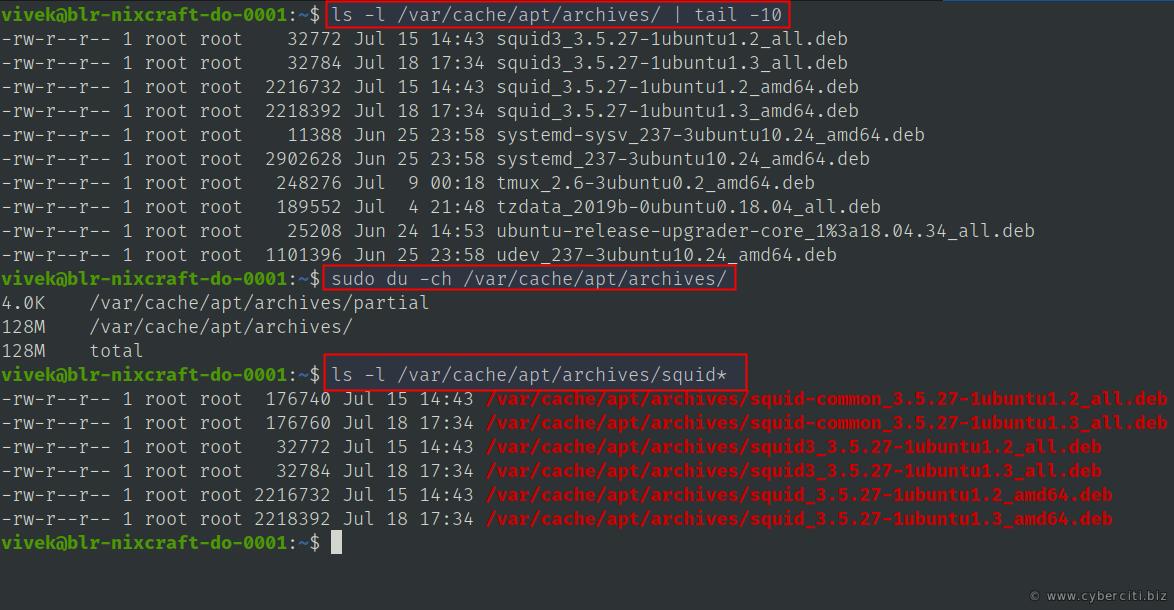 Can I delete /var/cache/apt/archives for Ubuntu/Debian Linux