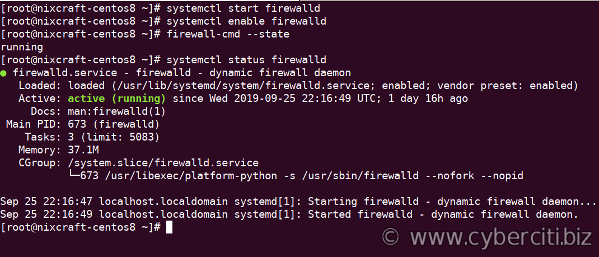 Installing and Managing FirewallD on CentOS 8