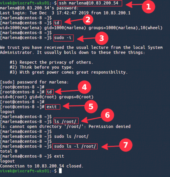 How To Create a Sudo User on CentOS Linux 8