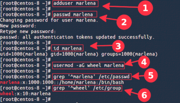 How to Add or Create Sudo User on CentOS Linux 8