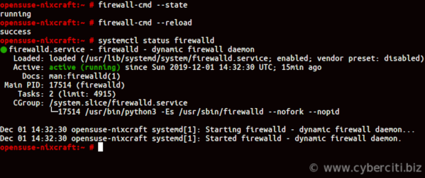 Installing and Managing FirewallD on OpenSUSE Linux