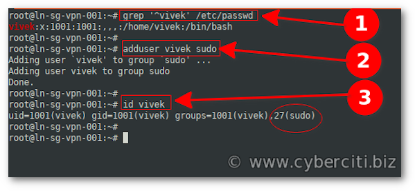 How To Create a Sudo User on Ubuntu 20.04 Linux LTS system