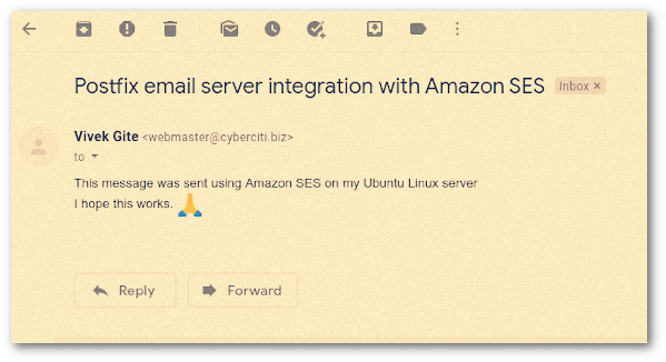 Integrating Amazon SES with Postfix Mail Server