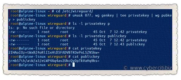 Set Up WireGuard VPN on Alpine Linux Linux