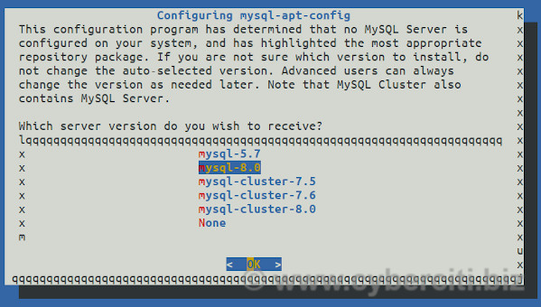 Configure Oracle MySQL on Debian 10 Linux