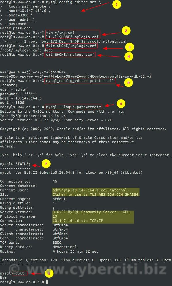 How to create MySQL admin user superuser account and verify it
