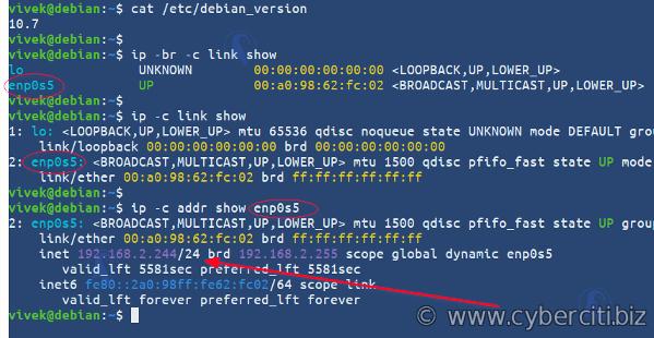 How to setup a Static IP address on Debian Linux