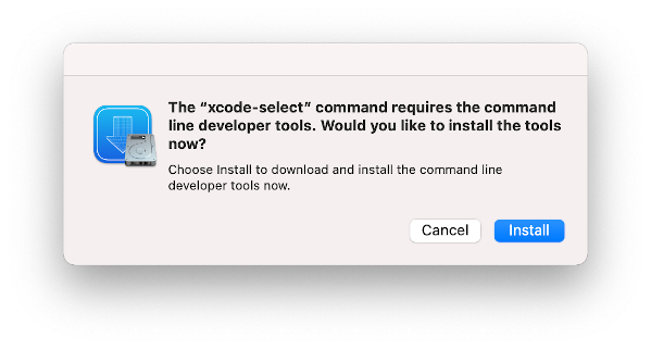 xcode confirmation on macOS