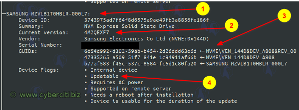 Thinkpad update SSD firmware on Linux X1 extreme P1