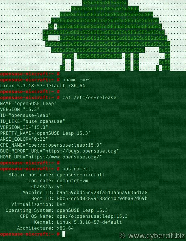 Cómo actualizar OpenSUSE 15.2 a OpenSUSE 15.3 y comprobarlo
