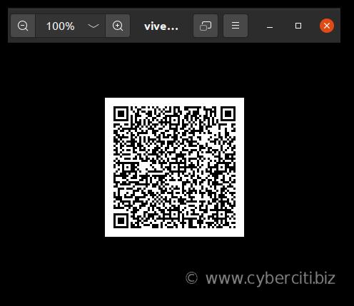 Cómo generar código QR WireGuard en Linux para dispositivos móviles