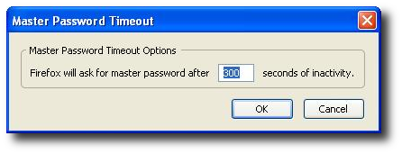 Fig.01: Master Password Timeout