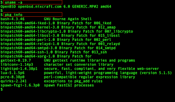 OpenBSD install or add binary software package using pkg_add - nixCraft