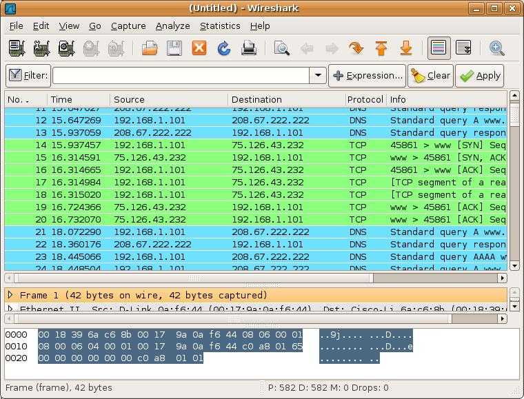 wireshark  network analysis tools