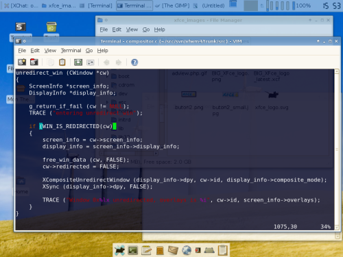 Xfce lightweight Linux and UNIX desktop environment for old hardware