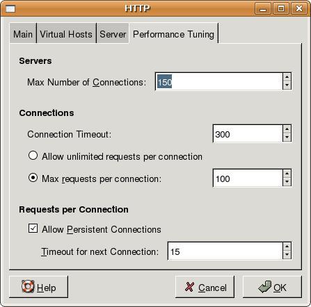 Basic X11 Forwarding Over SSH - Open HTTPD Config tool