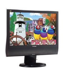 New 19″ Viewsonic Widescreen LCD Monitor