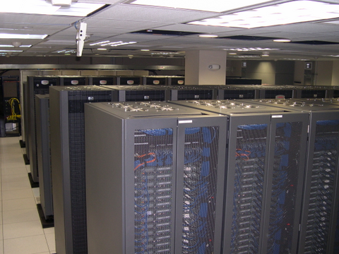 The Huge Server Farm at DreamWorks Animation  used to create Shrek the Third animation movie
