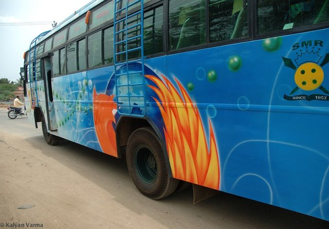 Firefox bus pictures