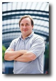 Linus Torvalds, programmer, creator of the Linux kernel