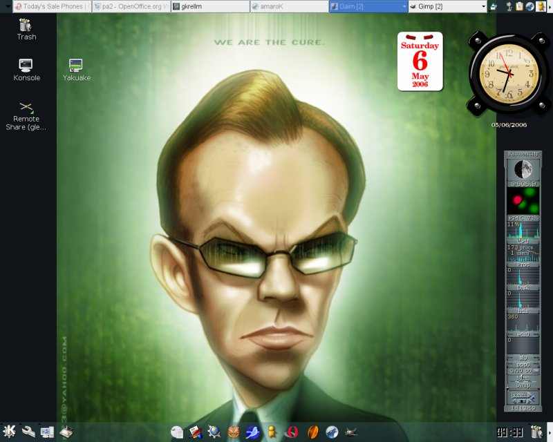 Agent Smith Meet KDE