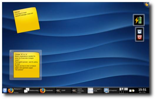 Fedora 9 (Sulphur) Beta Version ScreenShot