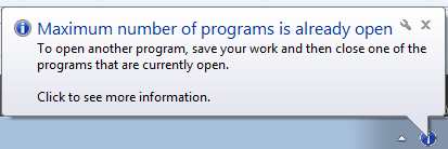 Image result for too many programs open