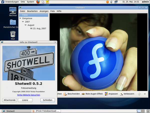 Fedora 13 Desktop (image credit - the fedora project)