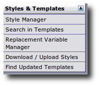 Fig.01: Vbulletin Editing Styles And Templates