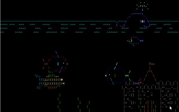 Linux / UNIX Desktop Fun: Terminal ASCII Aquarium - nixCraft